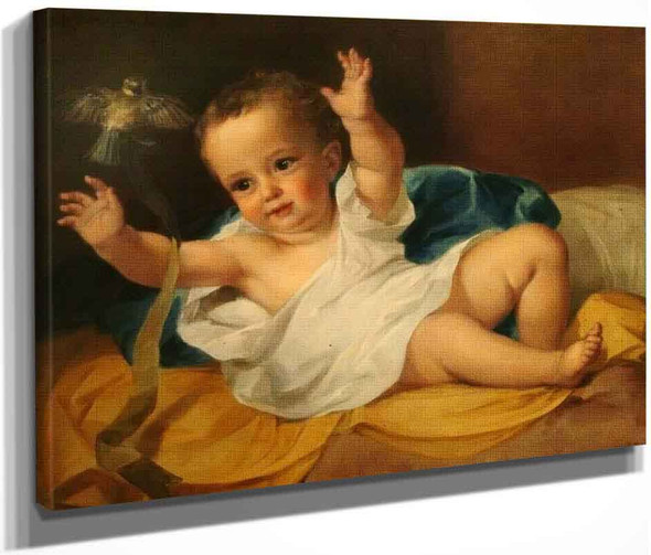 Gerald Hamilton As An Infant By George Frederic Watts English 1817 1904