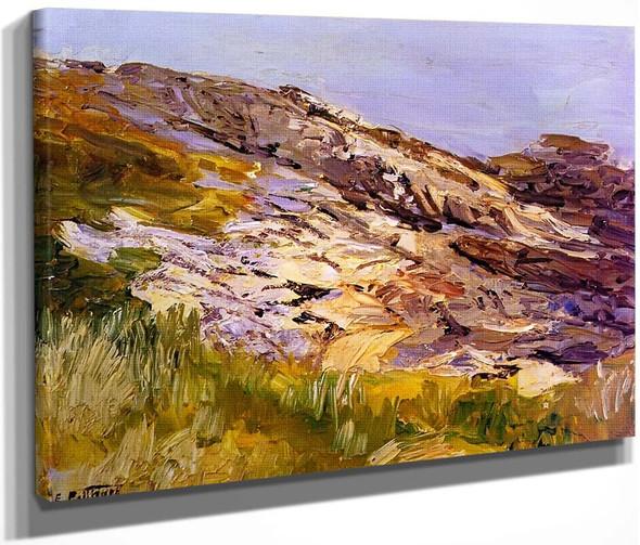 Gray Day On The Coast By Edward Potthast By Edward Potthast