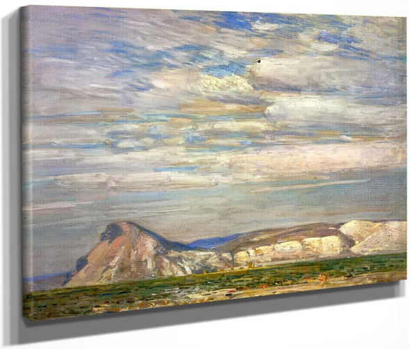Harney Desert  By Frederick Childe Hassam  By Frederick Childe Hassam