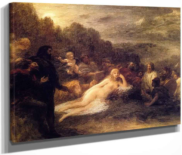 Helen By Henri Fantin Latour By Henri Fantin Latour