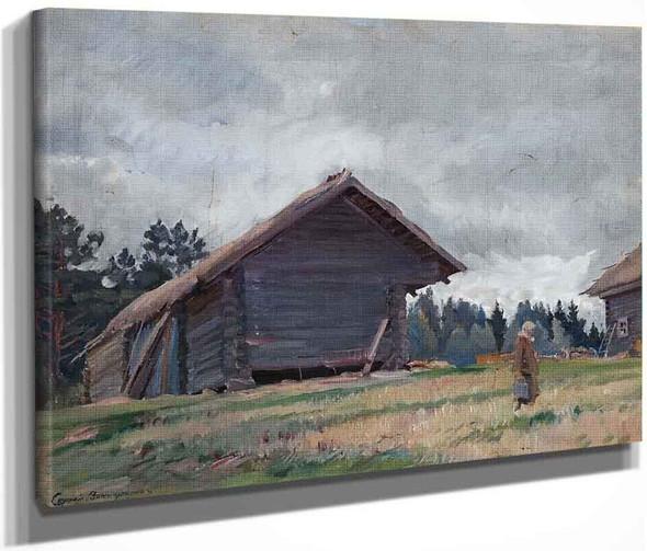 Homestead By Sergei Arsenevich Vinogradov Russian 1869 1938