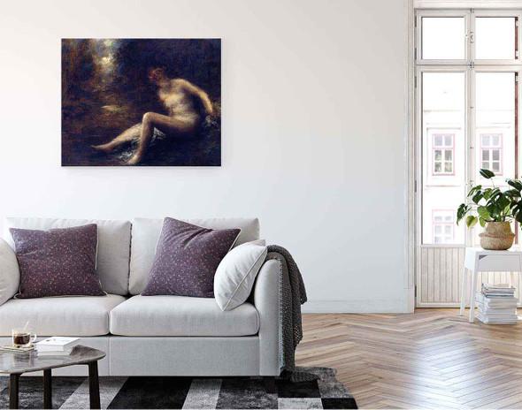 Huntress By Henri Fantin Latour By Henri Fantin Latour