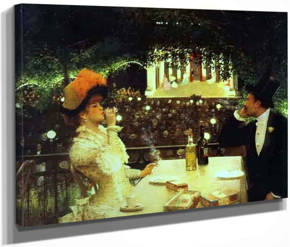 In Cafe Chantant 'Les Ambassadeurs' By Jean Georges Beraud By Jean Georges Beraud