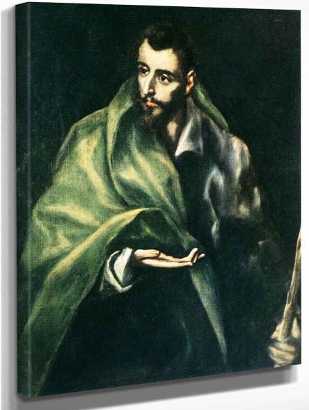 Apostle St James The Greater By El Greco By El Greco