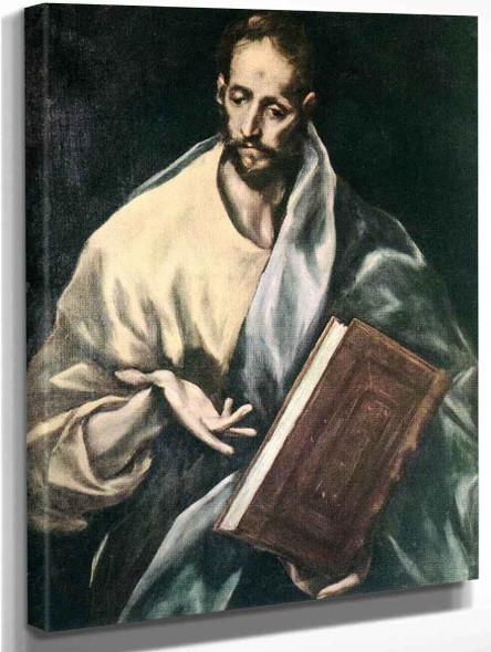 Apostle St James The Less By El Greco By El Greco