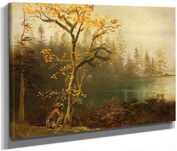 Indian Scout By Albert Bierstadt By Albert Bierstadt