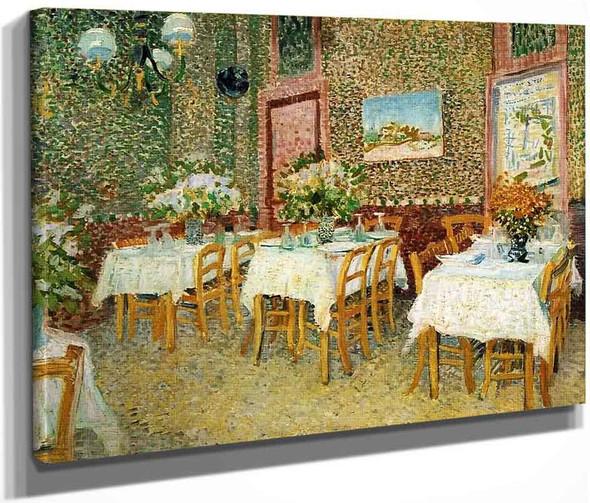 Interior Of A Restaurant1 By Vincent Van Gogh