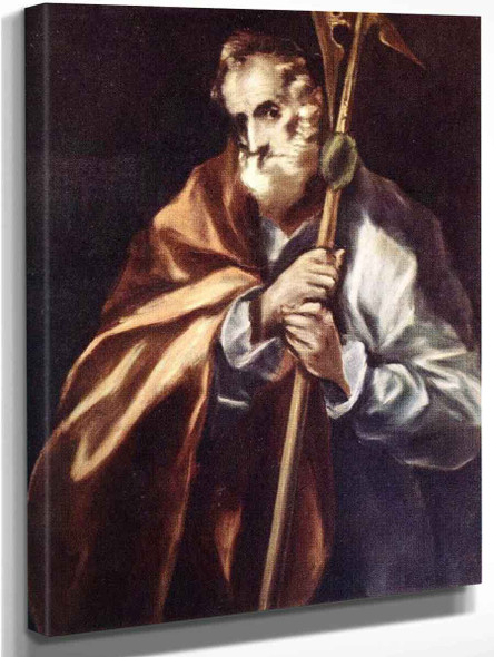 Apostle St Thaddeus  By El Greco By El Greco