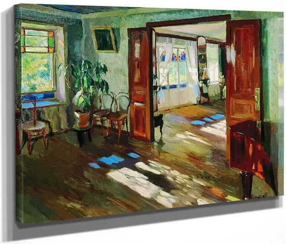 Interior By Sergei Arsenevich Vinogradov Russian 1869 1938