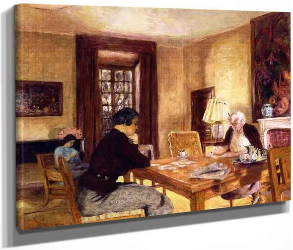 Intimacy By Edouard Vuillard