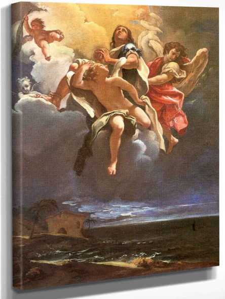 Apotheosis Of A Saint By Sebastiano Ricci