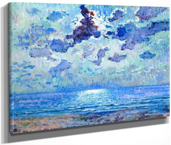 Jersey 1907, Moonlight By Theo Van Rysselberghe