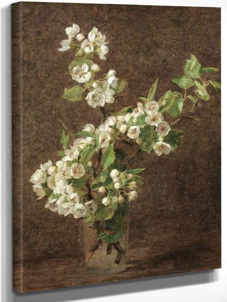 Apple Blossoms By Henri Fantin Latour By Henri Fantin Latour