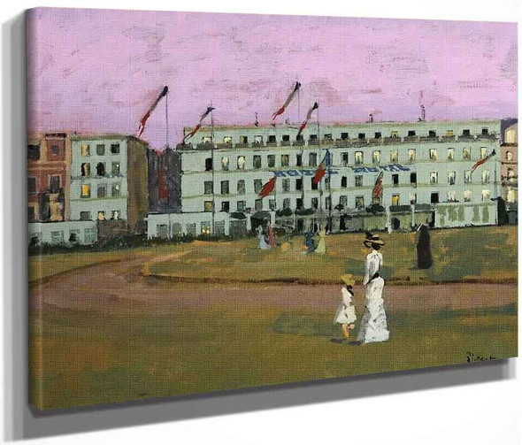 L'hotel Royal, Dieppe, France By Walter Richard Sickert By Walter Richard Sickert