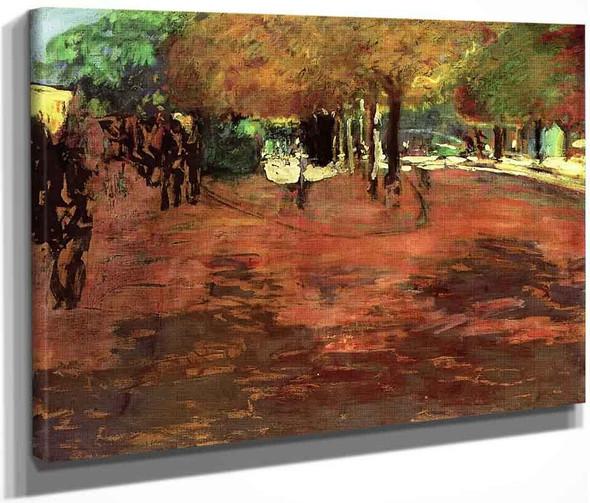 La Muette, The Sprinkler By Edouard Vuillard