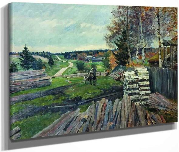Landscape 2 By Sergei Arsenevich Vinogradov Russian 1869 1938