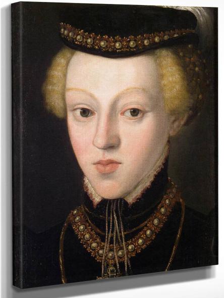 Archduchess Johanna , Grand Duchess Of Tuscany By Giuseppe Arcimboldo