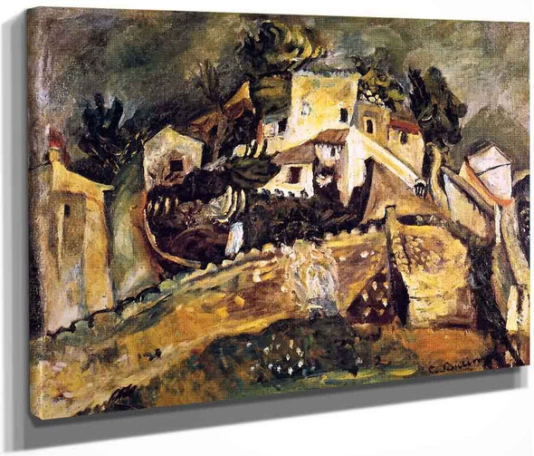 Landscape At Cagnes8 By Chaim Soutine