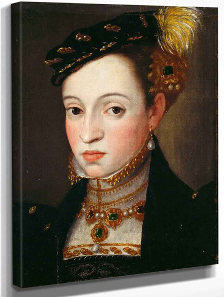 Archduchess Magdalena Of Austria By Giuseppe Arcimboldo