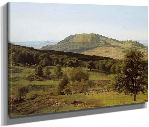 Landscape Hill And Dale By Albert Bierstadt By Albert Bierstadt