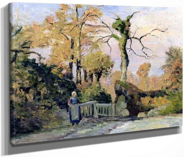 Landscape In Autumn By Camille Pissarro By Camille Pissarro