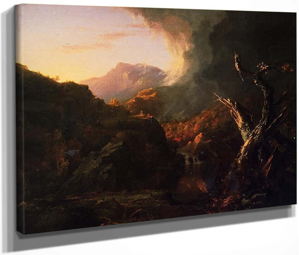 Landscape With Dead Trees By Thomas Cole By Thomas Cole