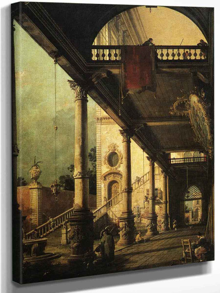 Architectural By Canaletto By Canaletto