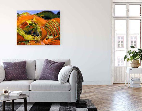 Landscape14 By Alfred Henry Maurer By Alfred Henry Maurer