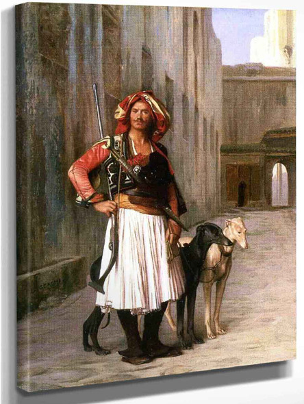 Arnaut From Cairo By Jean Leon Gerome