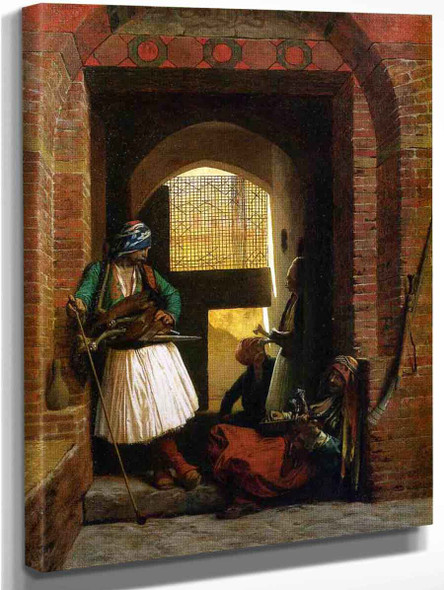 Arnaut Guards In Cairo By Jean Leon Gerome