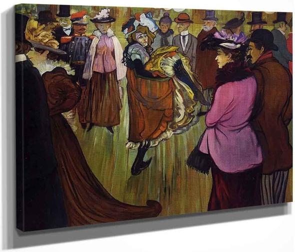 Le Moulin Rouge By Henri De Toulouse Lautrec