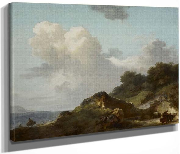 Le Rocher  By Jean Honore Fragonard  By Jean Honore Fragonard