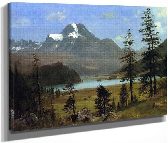 Longs Peak, Estes Park, Colorado 1 By Albert Bierstadt By Albert Bierstadt