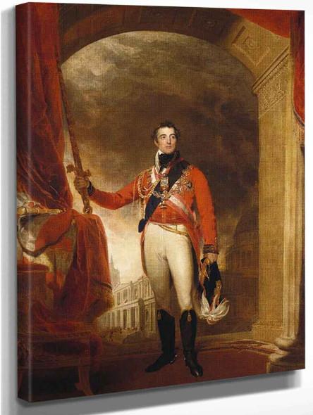 Arthur Wellesley, First Duke Of Wellington By Sir Thomas Lawrence