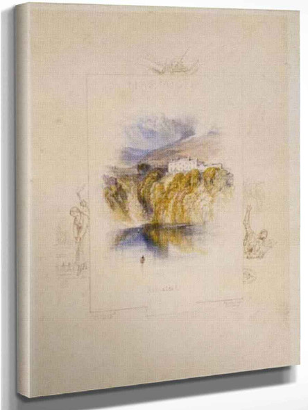 Ashestiel By Joseph Mallord William Turner