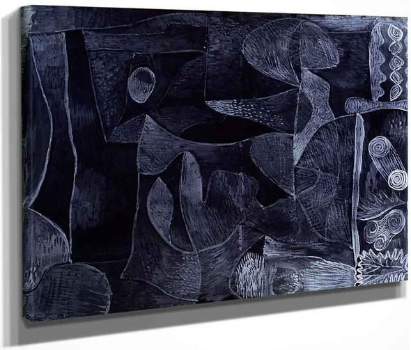 Morgangrau By Paul Klee By Paul Klee