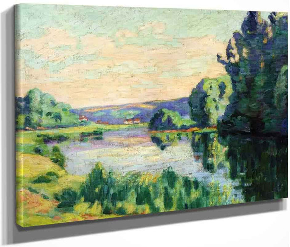 Nanteuil Sur Marne By Armand Guillaumin