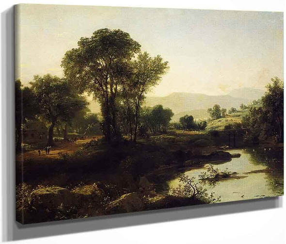 New Hampshire And School's Out By John Frederick Kensett By John Frederick Kensett
