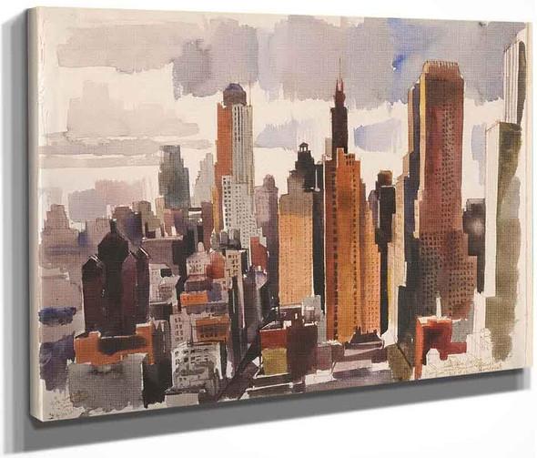 New York By Vilmos Aba Novak By Vilmos Aba Novak