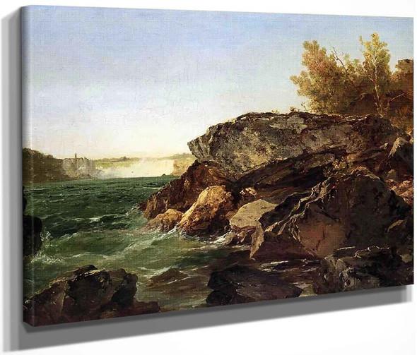 Niagara Falls By John Frederick Kensett By John Frederick Kensett