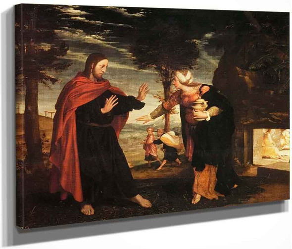 Noli Me Tangere By Hans Holbein The Younger  By Hans Holbein The Younger