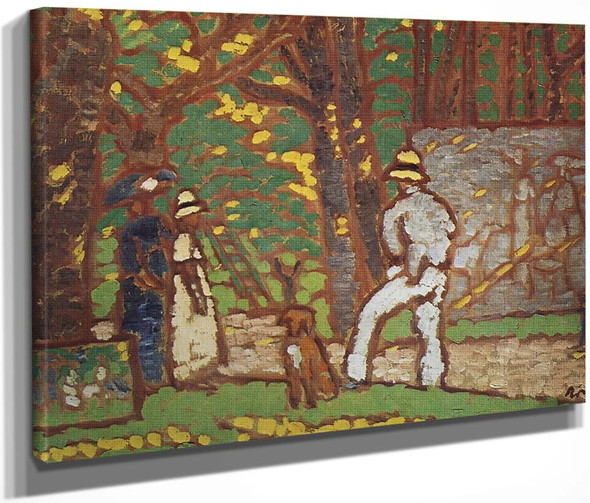 Painter In The Garden By Jozsef Rippl Ronai By Jozsef Rippl Ronai