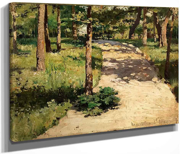 Path Through The Woods By Sergei Arsenevich Vinogradov Russian 1869 1938