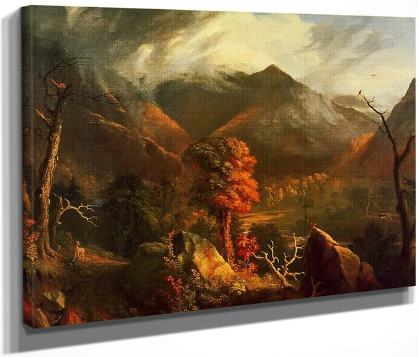 Peace At Sunset By Thomas Cole By Thomas Cole