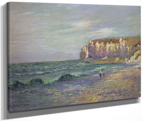 Petit Dalles At Normandy By Gustave Loiseau By Gustave Loiseau