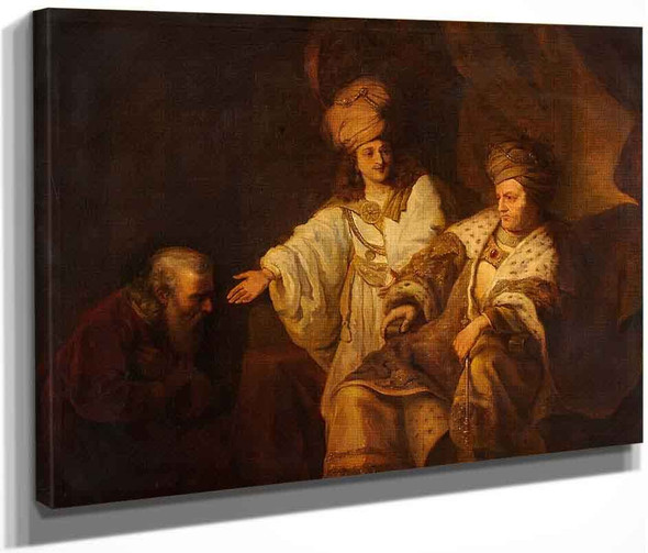 Petitioners Before King David By Ferdinand Bol