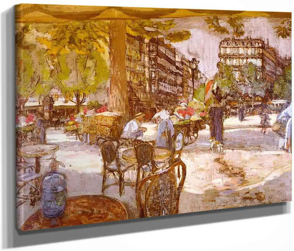 Place Saint Augustin, The Soda Syphon By Edouard Vuillard