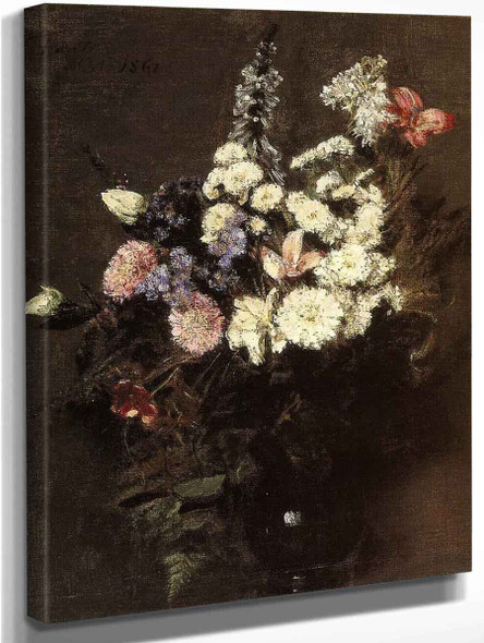 Autumn Flowers By Henri Fantin Latour By Henri Fantin Latour