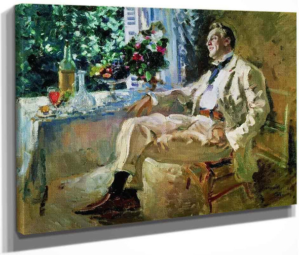 Portrait Of Fedor Chaliapin1 By Constantin Alexeevich Korovin By Constantin Alexeevich Korovin