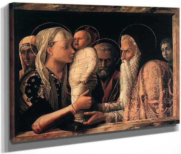 Presentation At The Temple By Andrea Mantegna